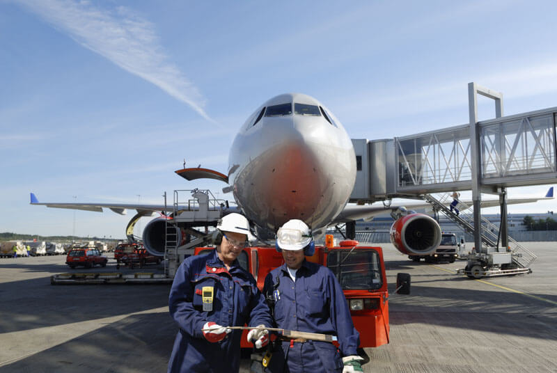 Empresa de servicios aeroportuarios en Madrid